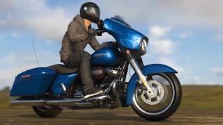 The Crew 2 - Harley Davidson Street Glide Customization & Gameplay