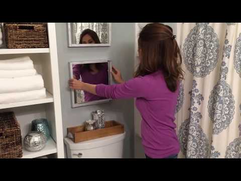 How To Make A Wood Framed Mirror Easy And Inexpensive Youtube