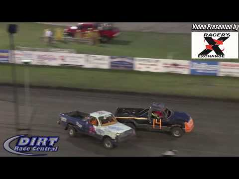 Murray County Speedway 7/22/16 Beatin and Bangin Pickups