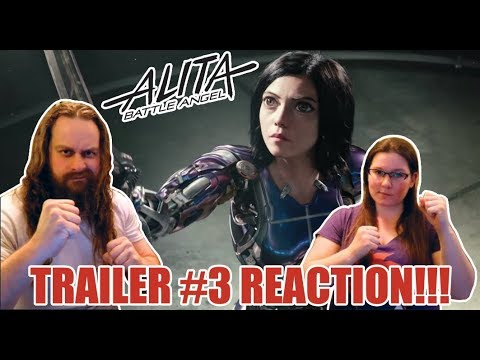 Alita: Battle Angel (2019) Trailer 3 Reaction