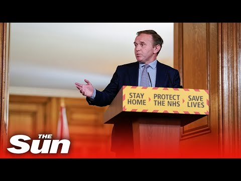 Environment Secretary George Eustice gives COVID-19 government briefing