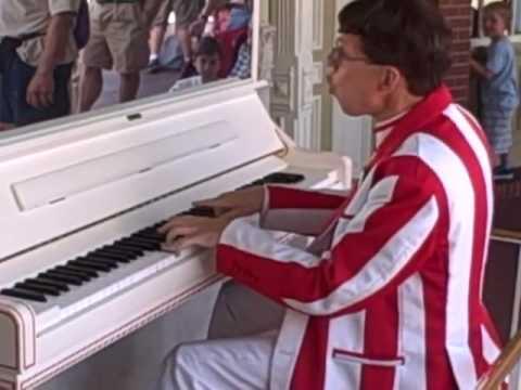 Disney Jim The Best Rag Time Piano player The Entertainer Scott Joplin Ragtime