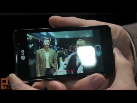 LG Optimus 3D Max smartphone first look at MWC 2012