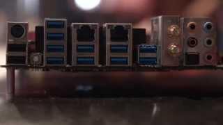 Msi X99 Motherboards - Pax Prime 2014 Showfloor