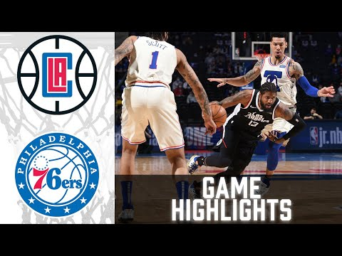 Clippers vs 76ers HIGHLIGHTS Full Game | NBA April 16