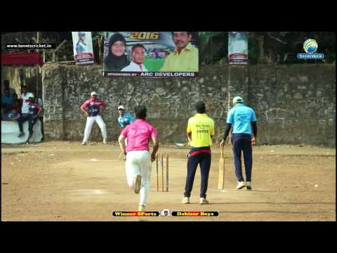 Winner Sports VS Dahisar Boys | CCPL Trophy 2016 | Mumbai