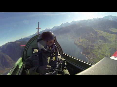 Gülsha folgt dir: Bei der Schweizer Luftwaffe
