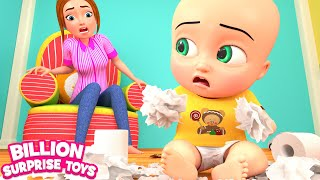Bits of Paper Song  - | Nursery Rhyme | Billion Surprise Toys