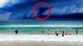 10 Мистических Явлений На Пляже Снятых На Камеру