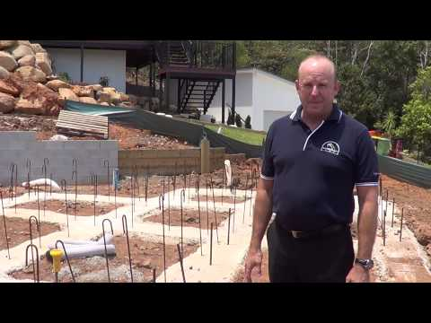 Morcraft Homes - sloping site construction
