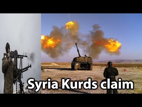 Syria Kurds claim striking positions in Turkey || World News Radio