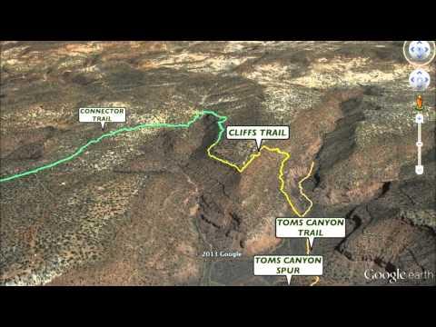 KANAB, UTAH AREA HIKING TRAILS - 3D TOUR