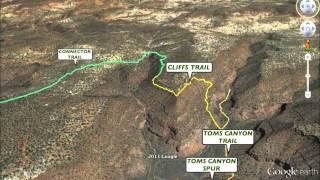 KANAB, UTAH AREA HIKING TRAILS - 3D TOUR