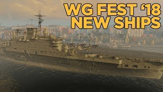 WG Fest 2018: RN CVs and USSR BBs - World of Warships