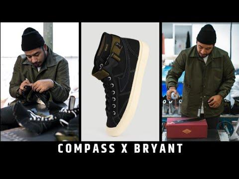 SEPATU COMPASS X BRYANT (SOLD OUT DALAM WAKTU 90 MENIT ?) #LOCALVOCAL #KICKSREVIEW