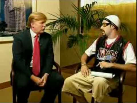 Ali G - Ice Cream Glove Business - Donald Trump