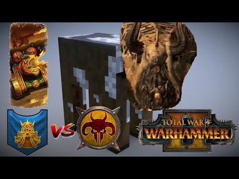 THE DWARF FLAME CANNON | Dwarfs vs Beastmen - Total War Warhammer 2