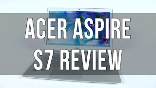 Acer Aspire S7-393 review, with Broadwell hardware
