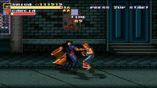 Streets of Rage Remake (v5.1) (PC) Route 1 (Mania) (Shiva SoR3) Walkthrough