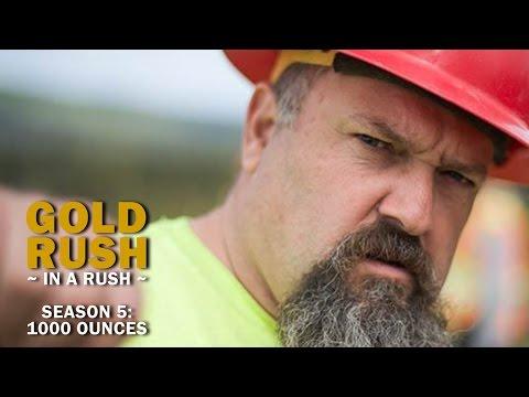 Gold rush season 5 reality check todd s 1 000 ounces gold rush