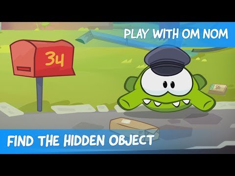 Find the Hidden Object - Om Nom Stories: Mailman (Cut the Rope)