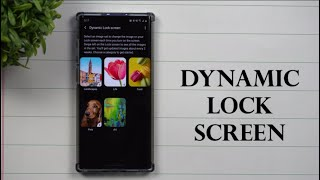 Samsung's Dynamic Lock Screen: Low-Key, This Is Really Cool. screenshot 3