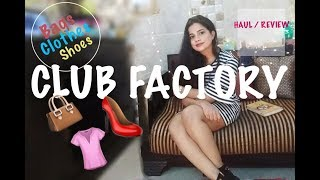 CLUB FACTORY CLOTHES • SHOES • BAGS | HAUL / REVIEW |TheLifeSheLoved| Sana K