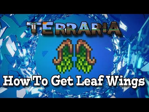 Terraria PS4 Gameplay Episode 9 How To Get Leaf Wings (Father/Son Multiplayer Lets Play)