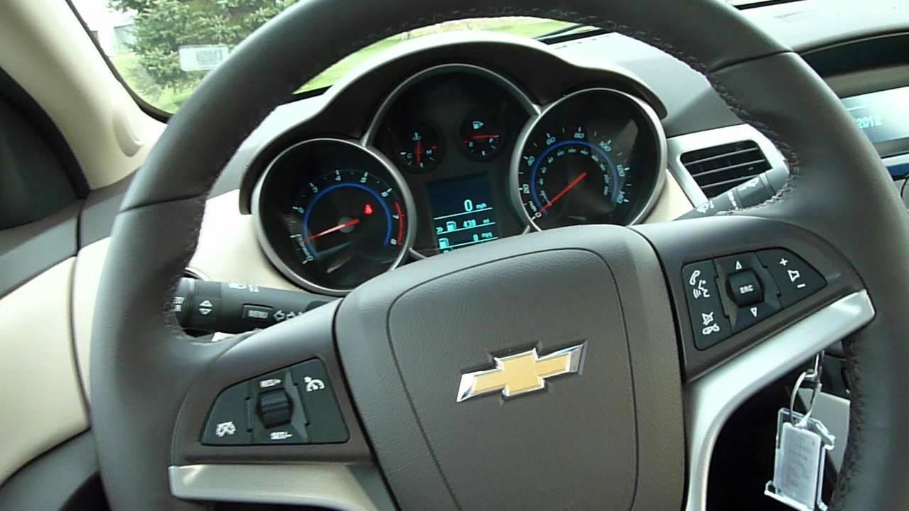 Cruze 2012 chevy cruze interior : 2012 Chevrolet Cruze 2LT Quick Look - YouTube
