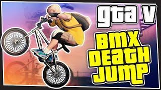 GTA 5 Online - BMX Death Jump (GTA V Custom Games)