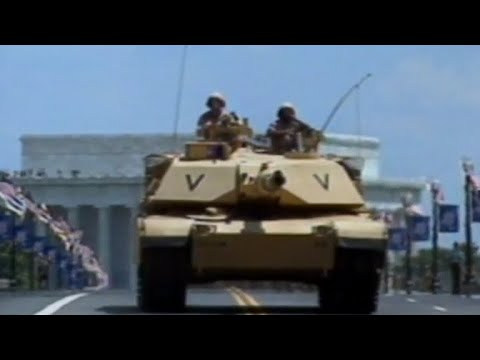 """""""It appeared Washington was under attack"""": Inside the 1991 Washington military parade"""