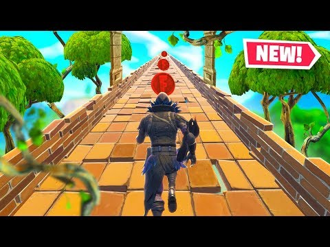 *NEW* TEMPLE RUN Custom Mode in Fortnite Battle Royale