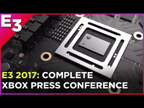 E3 2017: Watch the Complete Xbox Press Conference