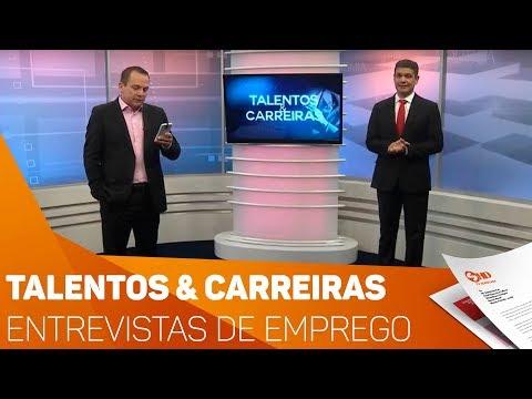 Talentos & Carreiras: Entrevistas de empregos - TV SOROCABA/SBT