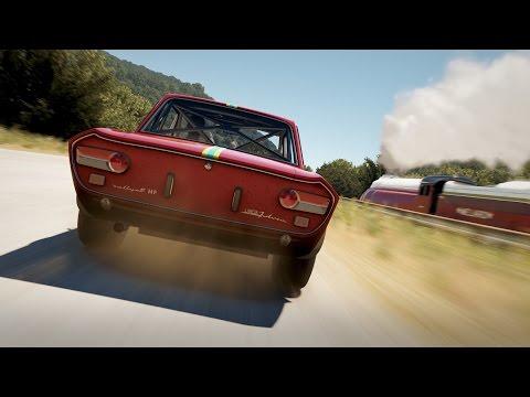 Forza Horizon 2 : Train vs Lancia Fulvia