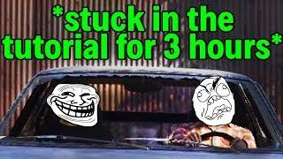 Stuck In the GTA:V Online Tutorial