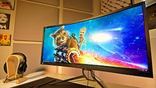 ACER Z35P 21:9 ULTRA WIDE GAMING MONITOR || Review