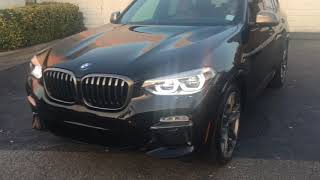 All New 2018 BMW X3 M40i Black