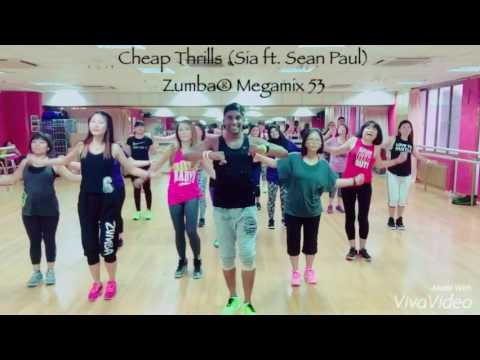 Cheap Thrills (Sia ft. Sean Paul) | Zumba® Mega...