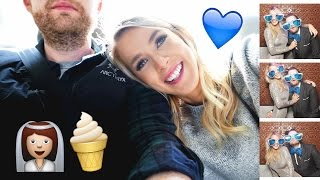 BEST ICE CREAM EVER + PHILLY WEDDING | weekend vlog 92