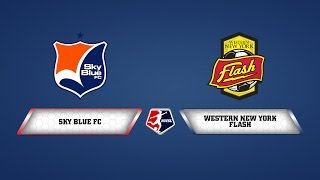 Sky Blue FC vs. Western New York Flash - July 31, 2014