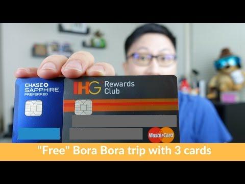 "[ Expired ] ""Free"" $9,300 Bora Bora Trip w/ Chase IHG + Chase Sapphire Preferred"