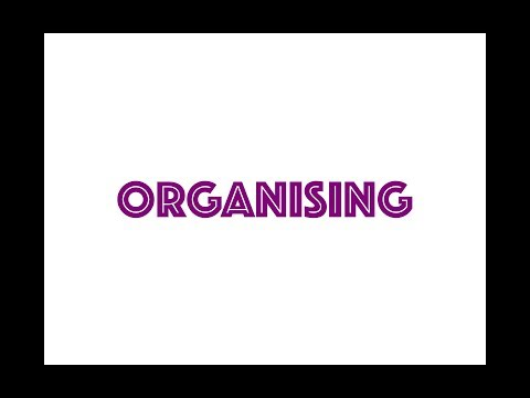 Organizing - Concept & Process