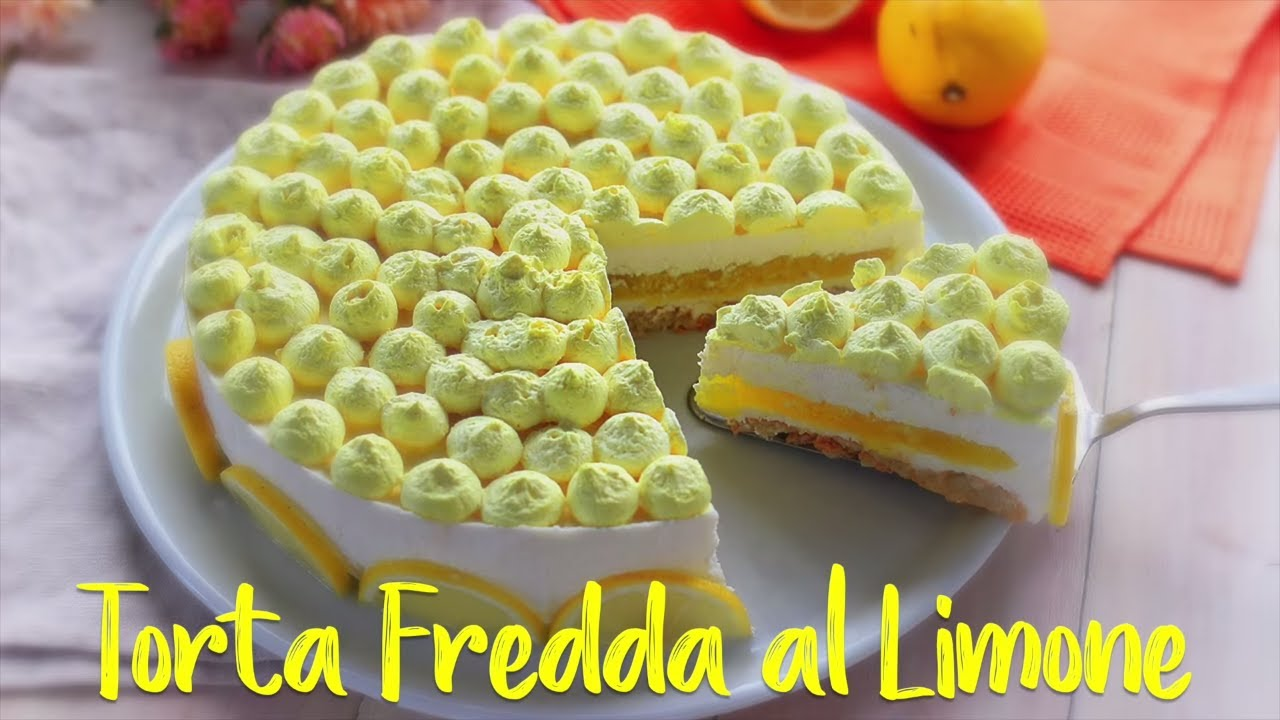 Torta fredda al limone ricetta facile fatto in casa da for Torta di mele e yogurt fatto in casa da benedetta