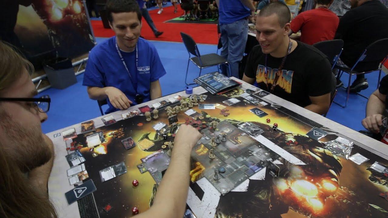doom the board game gencon 2016 demo youtube