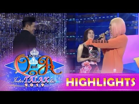 It's Showtime Miss Q and A: Vice notices that Kuya Escort Ion's zipper is open