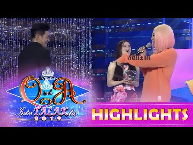 It's Showtime Miss Q & A: Vice notices that Kuya Escort Ion's zipper is open