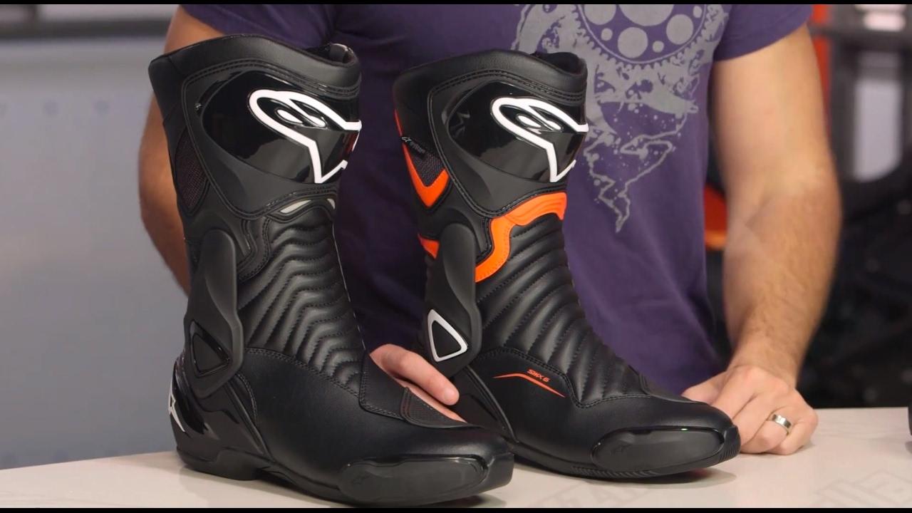 11997c552df39c Alpinestars SMX 6 v2 Boots Review at RevZilla.com - YouTube