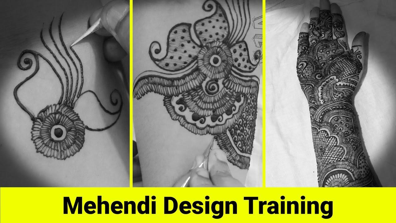Bridal Mehndi Training : Jempa indian bridal mehendi design training viral