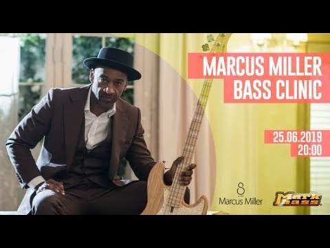 Marcus Miller Bass Clinic | Live from Thomann